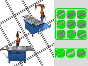 robotized solutions plan for producing steel alluminium accessories cutting taglio robotizzato Robotized cutting Coupe robotisée taglio al plasma
