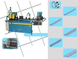 Macchina per fascette inox collari inox profilatrice sagomatrice automatica produzione produrre fascette inox
