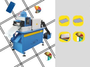 automatic machine for color plates sample